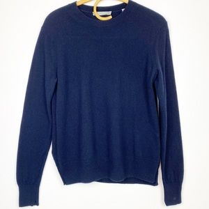 Vince | Navy 100% Cashmere Sweater
